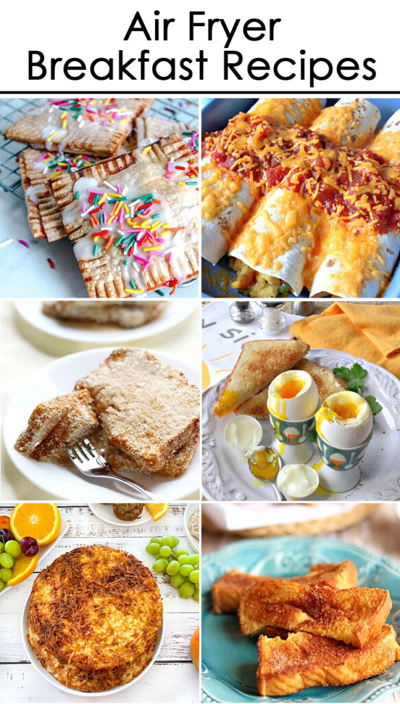 The best air fryer recipes - Breakfast