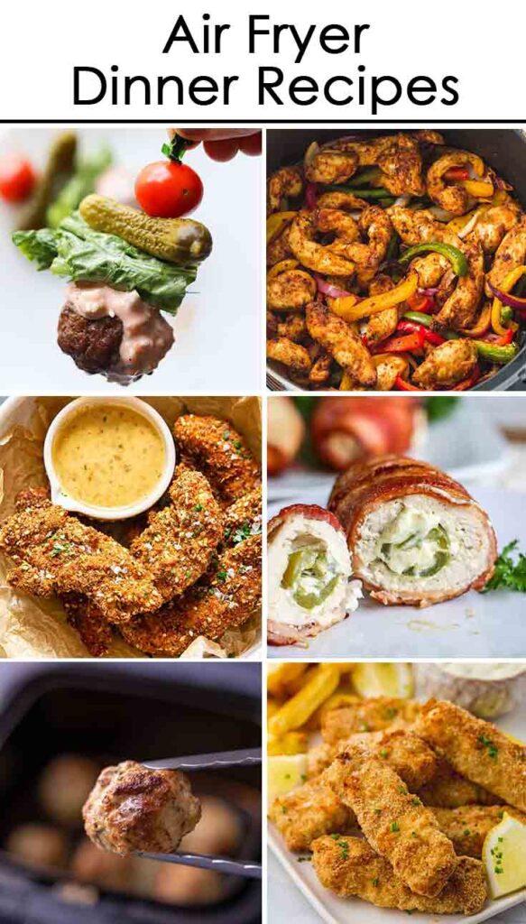 Best Air Fryer Recipes - Dinner